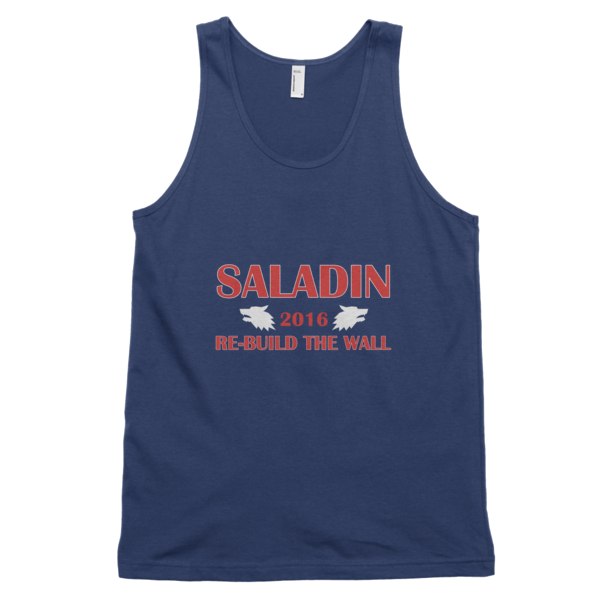 Saladin -- Re-Build The Wall Tank Top