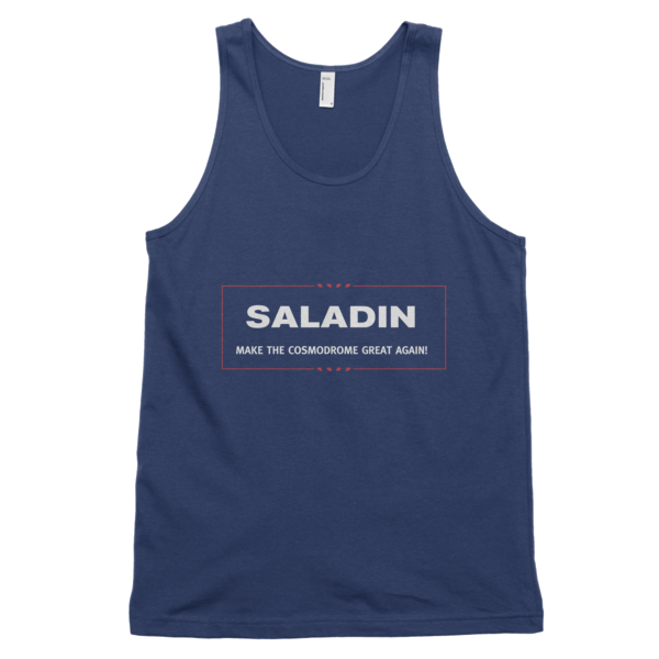 Saladin -- Make The Cosmodrome Great Again Tank Top