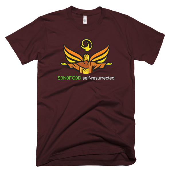 S0N0FG0D self-resurrected T-shirt