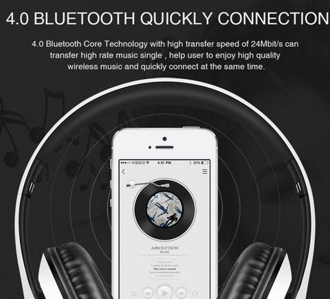 Bluetooth Wireless Headphones - Bluetooth Wireless Headphones