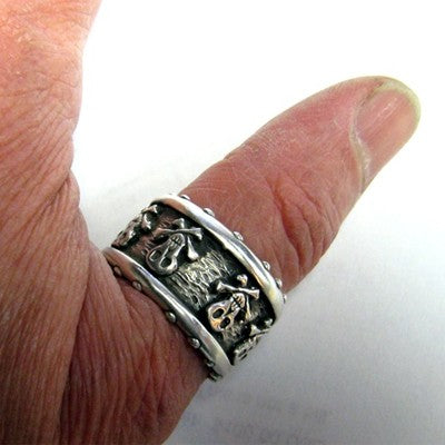 Pirate Skull Ring - Pirate Skull Ring
