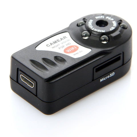 Worlds Smallest Wifi DVR Night Vision Camera