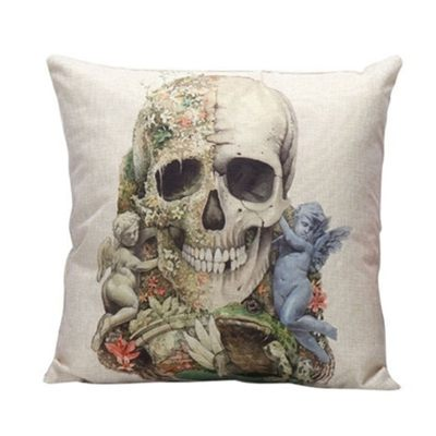 Skull Pillowcase Slips - FREE Skull Pillowcase Slips