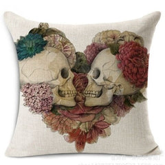 Skull Pillowcase Slips