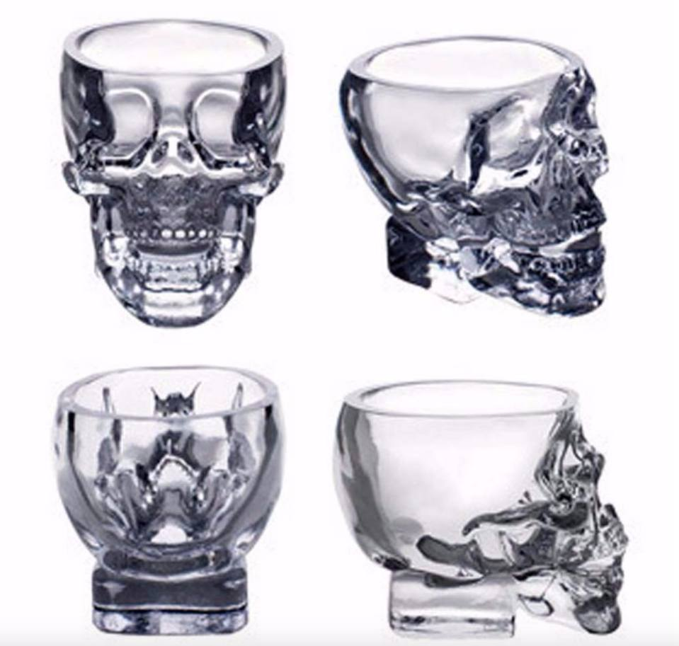 Skull Shot Glass - FREE Skull Head Shot Glass