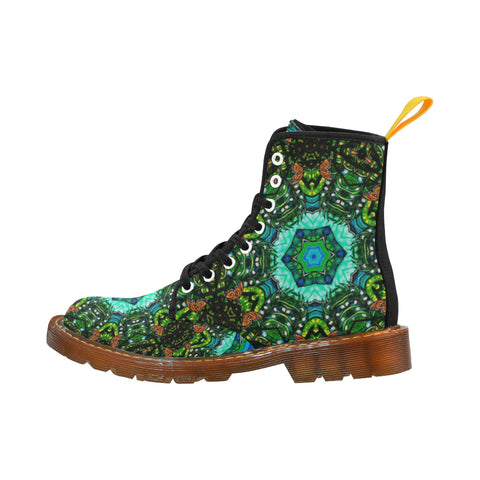 Monarch Mandala Boots