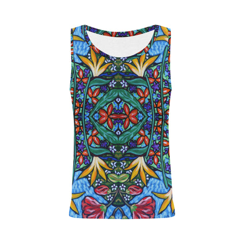 Garden Mirror Sleeveless Top