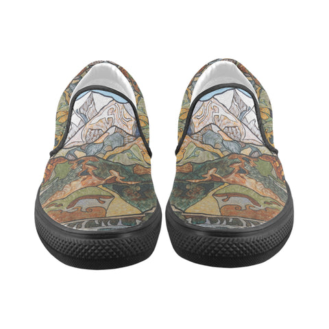 Steep Country Slip On Canvas Shoes