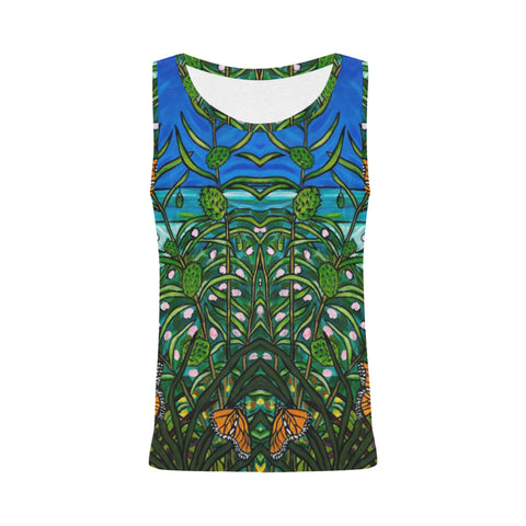 Monarchs Sleeveless Top