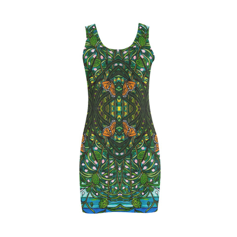 Mirror Monarchs Vest Dress