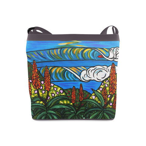 Surf Side Aloes Shoulder Bag
