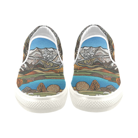 Central Otago Slip on Canvas Shoes