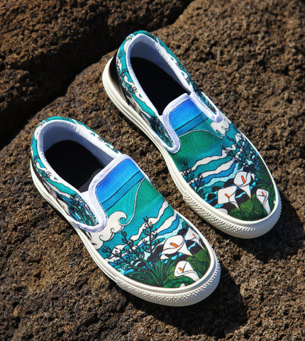 Beyond The Lily Field Slip on Shoes