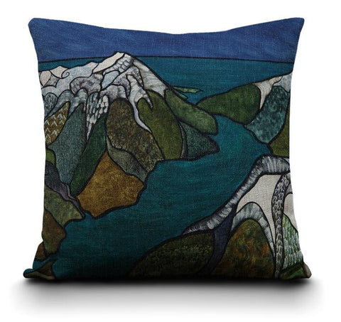 Milford Sound Cushion Cover