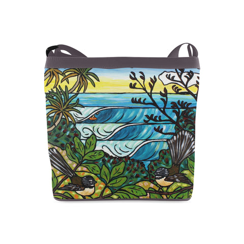 NZ Summer Surf Shoulder Bag