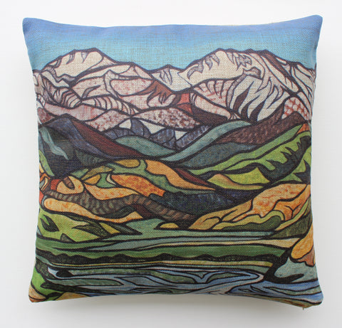 """Lyrical Lines"" Cushion Cover."