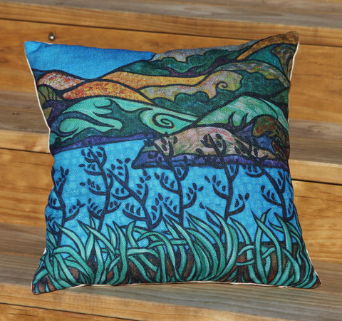 """By The Inlet"" Cushion Cover"