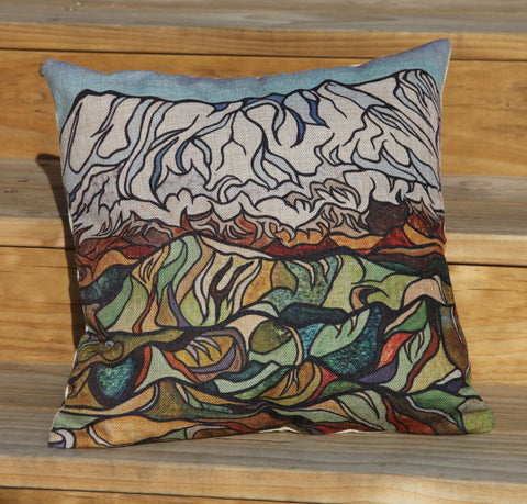 """Ruapehu"" Cushion Cover."