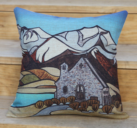 """Lake Tekapo"" Cushion Cover"