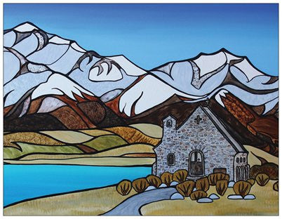Lake Tekapo Fridge Magnet