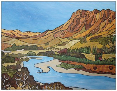 Good Clarity - Te Mata Peak Fridge Magnet