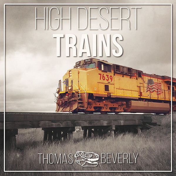High Desert Trains | Freight Trains Sound Effects Library