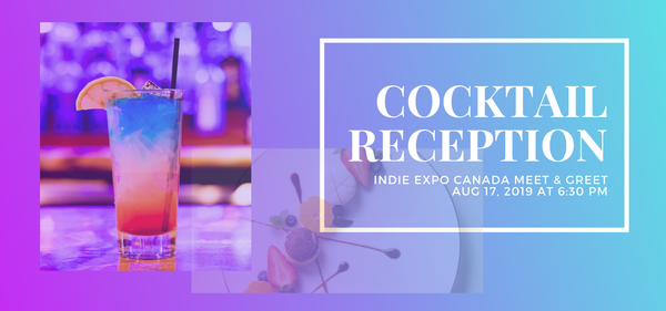 Meet & Greet cocktail party indie expo 2019