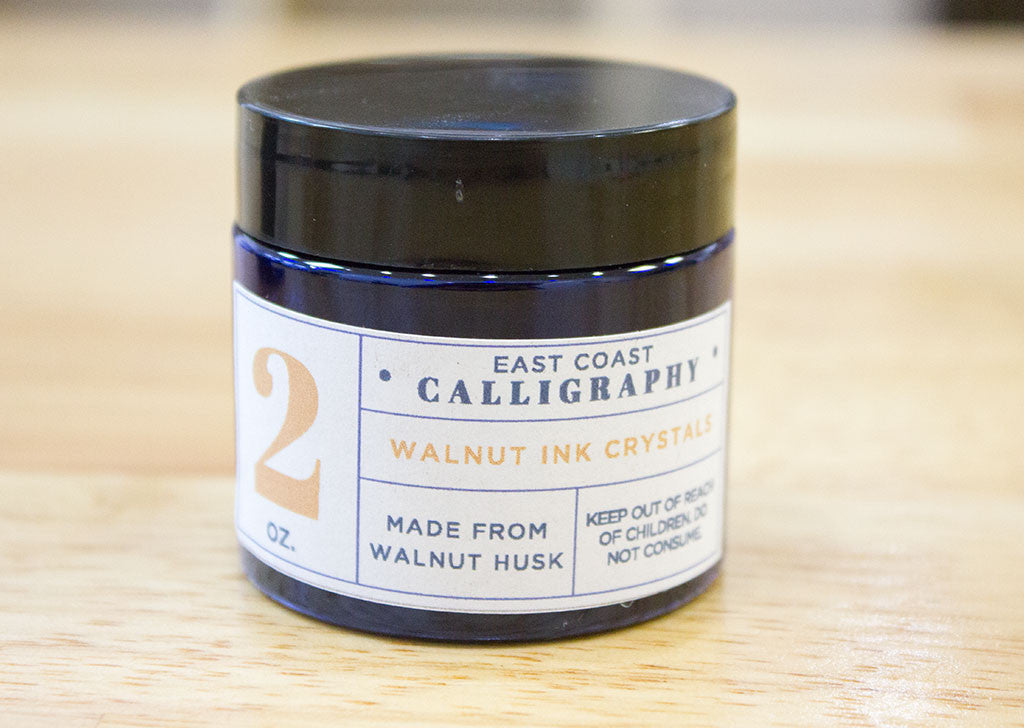 ECC Walnut Ink Crystals - 2 oz.