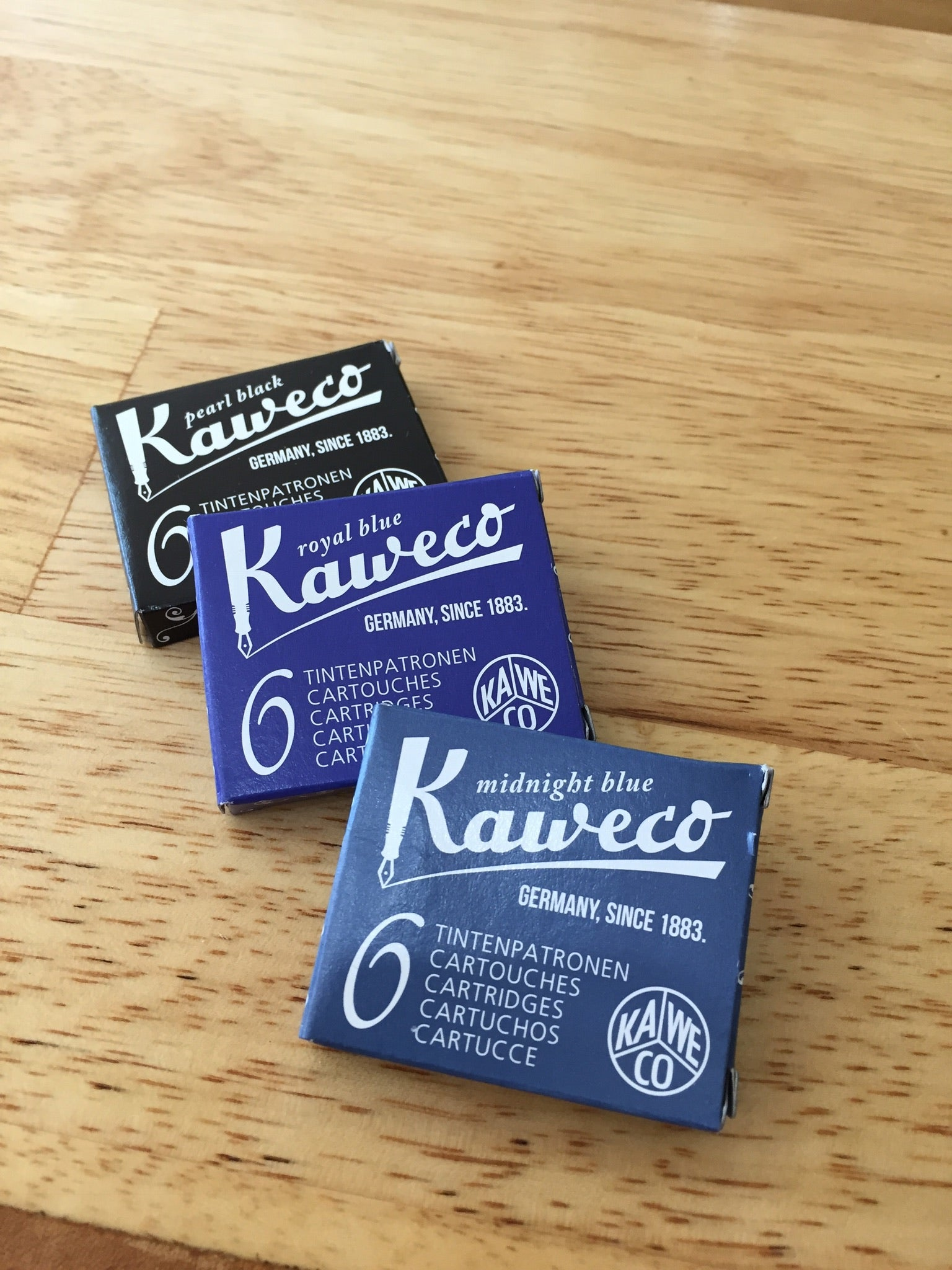 Kaweco Cartridges - 6 Pack