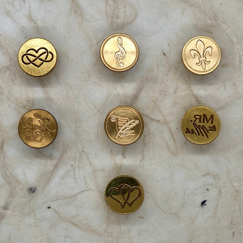 Wax Seal Stamp/ Brass Dies