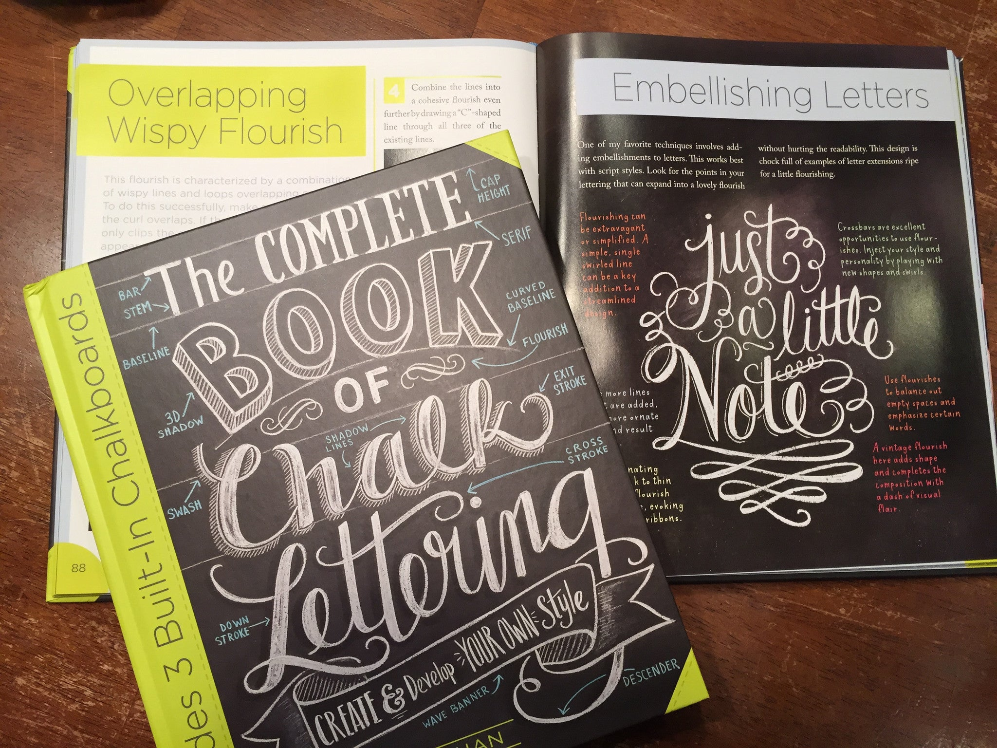 Book - Complete Book of Chalk Lettering: Create and
