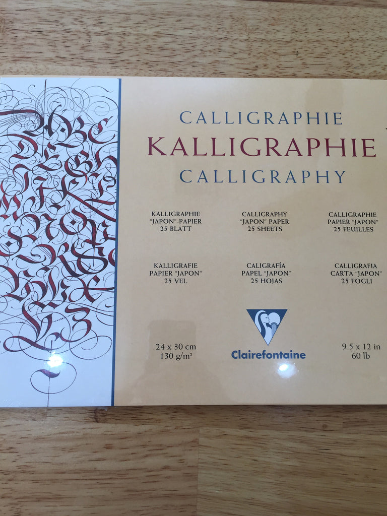 Clairefontaine - Kalligraphie Pad