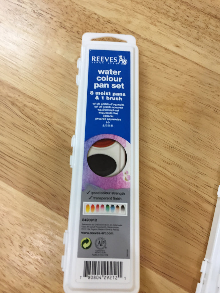 Reeves Water Colour Pan Set