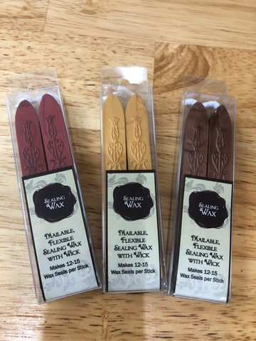 Freund-Mayer & Co. - Flexible Sealing Wax 2 Pack (with wick)