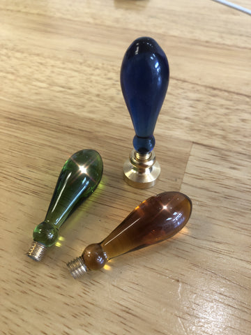 Teardrop Murano Glass Handles