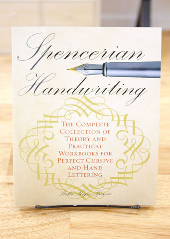 Book - Spencerian Handwriting: The Complete Collection of Theory and Practical Workbooks for Perfect Cursive and Hand Lettering