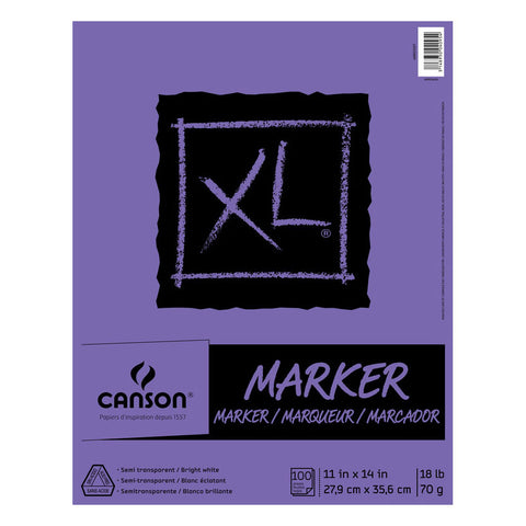 Canson XL Marker Pad - 9in x 12in