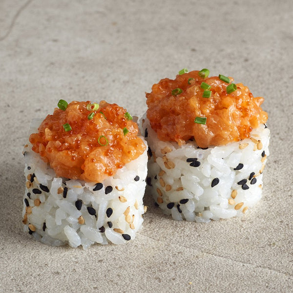 Spicy Salmon Uramaki (6 uds)