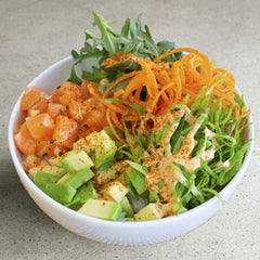 Salmon Pokebowl (400 gr)