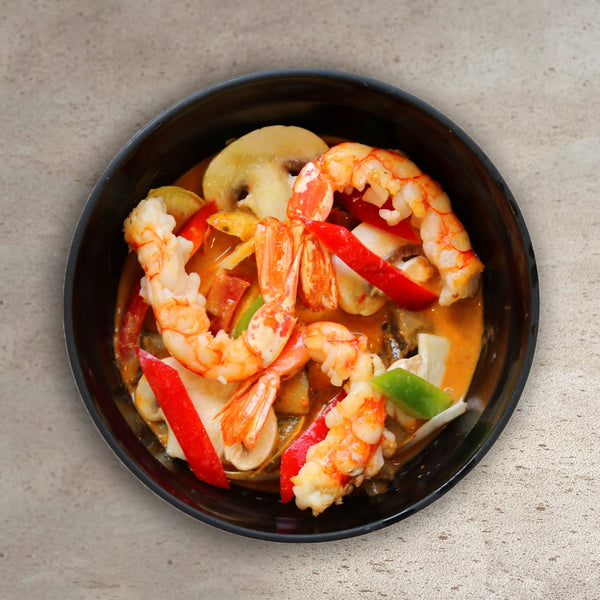Langostino al Curry Rojo