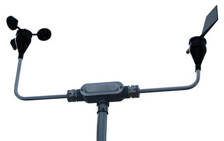 Model SDUM - U-Mount for Wind Vane and Wind Speed Anemometer