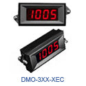 DMO-3xx-XEC Series 3 1/2 digit LED panel meter