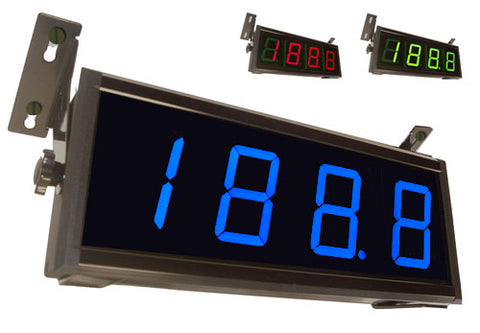 BDR-999 Series 3 1/2 digit LED panel meter