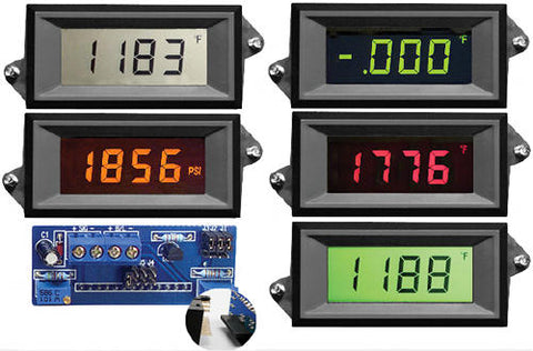 LPI-3-XEC Epic Series 3 1/2 digit loop powered LCD panel meter