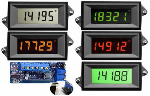 VPI-4-XEC Epic Series 4 1/2 digit Voltage Powered LCD panel meter