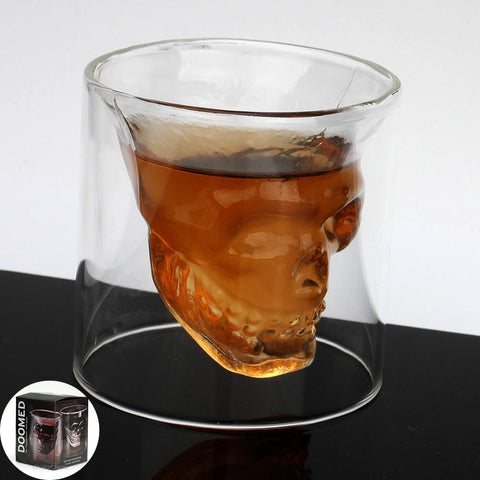 Verre à Whiskey Skull