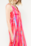 Madrid silk dress robe de soie - maxi dress - Designer - Wallo
