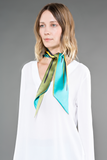 Zurich silk cravate scarve foulard cravate de soie - Designer Wallo