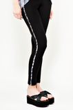 Brooklyn - legging - Soie - silk - Wallo -Designer - Stand Up