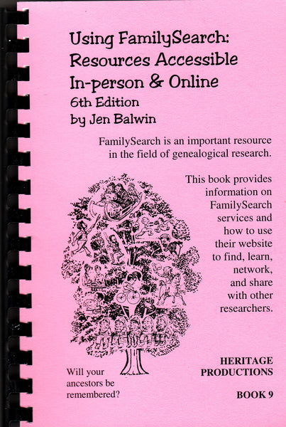 Using FamilySearch: Resources Accessible In-person & Online